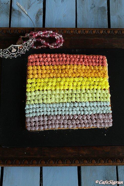 Prideuppskrift CafeSigrun 2015: Pridekaka