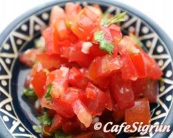 Salsa sem er eiginlega salat úr tómötum